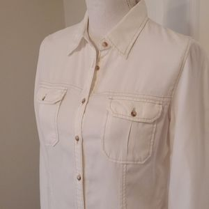 Maurices Cream Blouse S